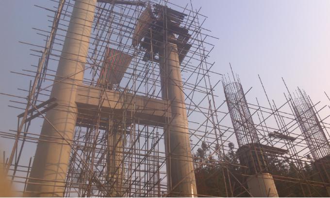 贵阳青镇桥dunqie割拆除施工