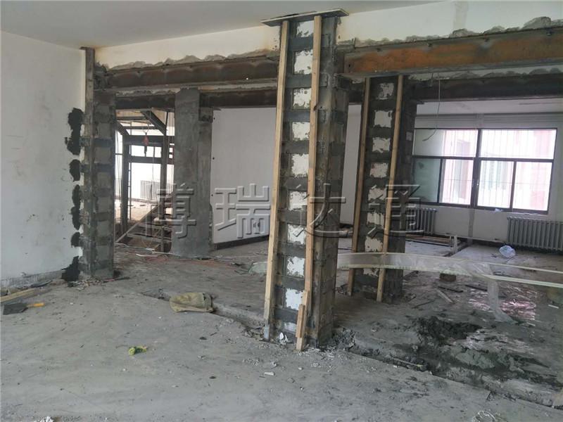 承接包头市广东星艺装饰有限公司加固工程